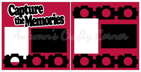Capture the Memories - Scrapbook Page Kit