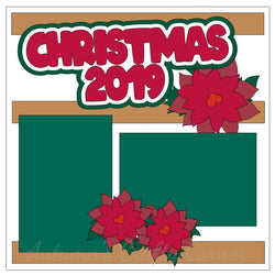 Christmas 2019 - Single Scrapbook Page Kit