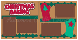 Christmas Baking - Scrapbook Page Kit