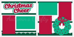 Christmas Cheer - Scrapbook Page Kit