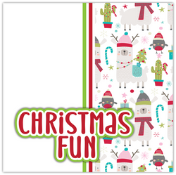 Christmas Fun - Printed Premade Scrapbook Page 12x12 Layout