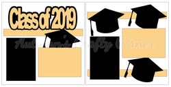 Class of 2019 - Scrapbook Page Kit