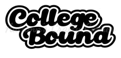 College Bound - Deluxe Scrapbook Page Title