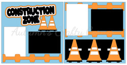 Construction Zone - Scrapbook Page Kit