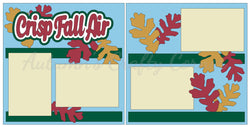 Crisp Fall Air - Scrapbook Page Kit