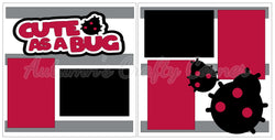 Cute as a Bug - Scrapbook Page Kit