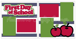 First Day of School - Scrapbook Page Kit