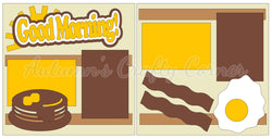 Good Morning! - Breakfast - Scrapbook Page Kit