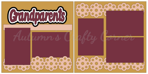 Grandparents - Scrapbook Page Kit