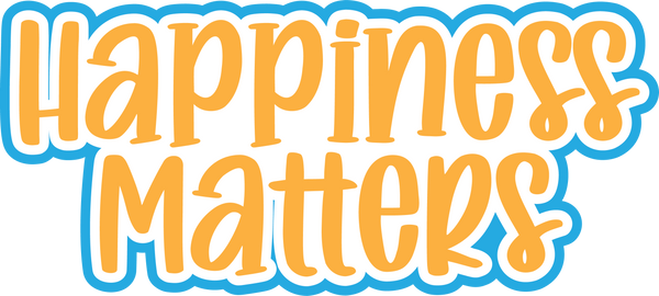 Happiness Matters - Scrapbook Page Title Sticker