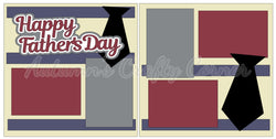 Happy Father's Day - Scrapbook Page Kit