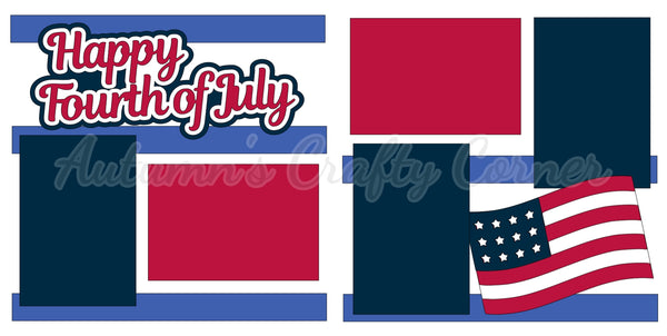 Happy Fourth of July - Die Cut Kit