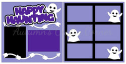 Happy Haunting - Scrapbook Page Kit