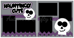Hauntingly Cute - Scrapbook Page Kit