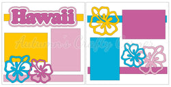 Hawaii - Scrapbook Page Kit