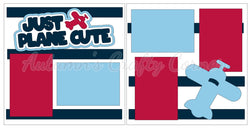 Just Plane Cute - Scrapbook Page Kit