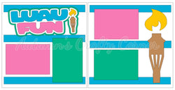 Luau Fun  - Scrapbook Page Kit