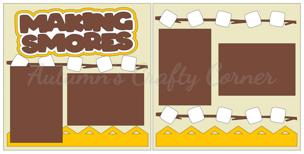 Making Smores - Scrapbook Page Kit