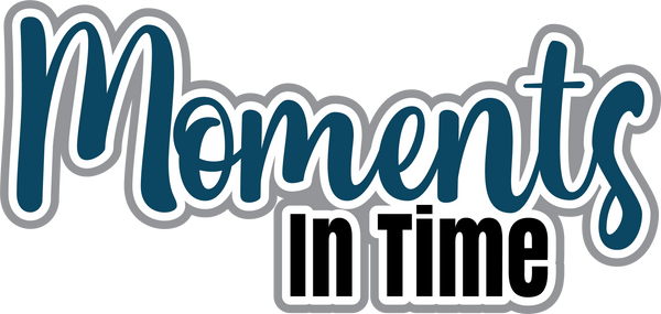 Moments in Time - Scrapbook Page Title Sticker