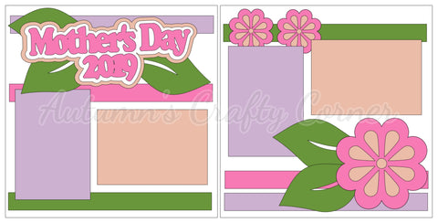 Mother's Day 2019 - Scrapbook Page Kit