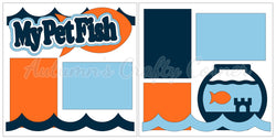My Pet Fish - Scrapbook Page Kit