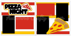 Pizza Night - Scrapbook Page Kit