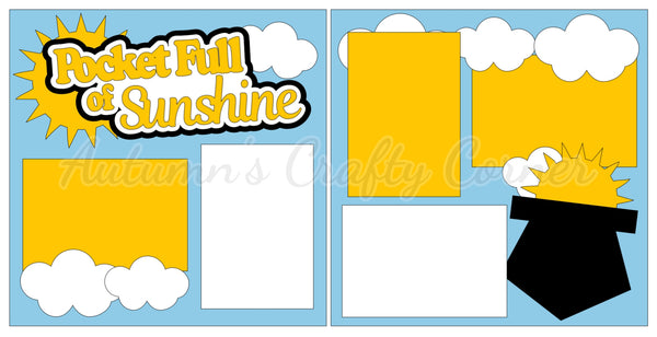 Pocket Full of Sunshine - Scrapbook Page Kit