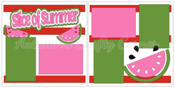 Slice of Summer - Scrapbook Page Kit