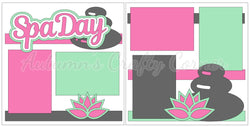 Spa Day - Scrapbook Page Kit