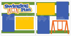 Swinging Fun - Scrapbook Page Kit