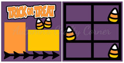 Trick or Treat - Scrapbook Page Kit
