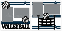 Volleyball - Scrapbook Page Kit