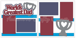 World's Greatest Dad - Scrapbook Page Kit