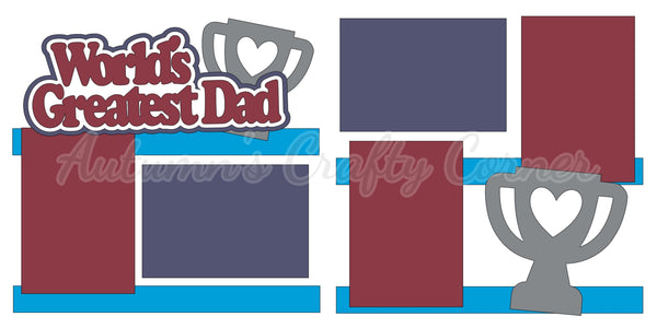 World's Greatest Dad - Die Cut Kit