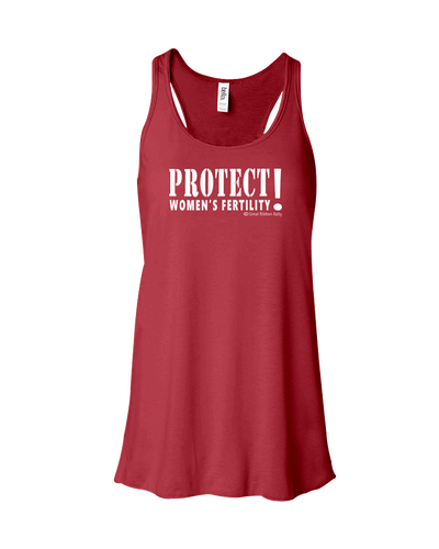Tank Top Army Style Protect Womens Fertililty