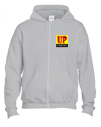 Up Cancer warm and cozy Hoodies