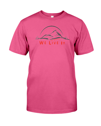We Live It Up Cancer Tee