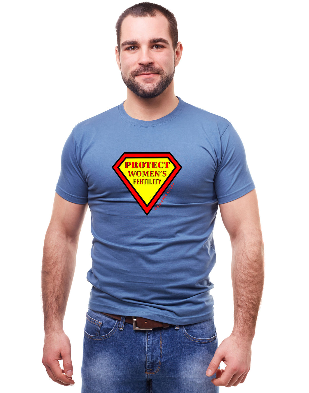 Male T-Shirt Protect Women's Fertility