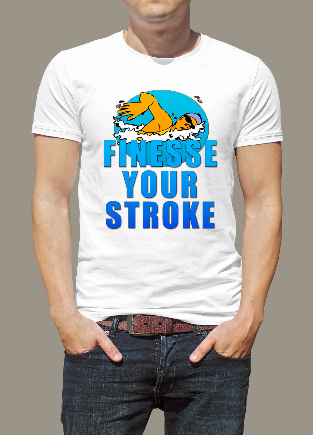 Swimming Finesse Your Stroke T-Shirt