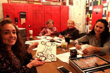 art therapy class - drawing or painting