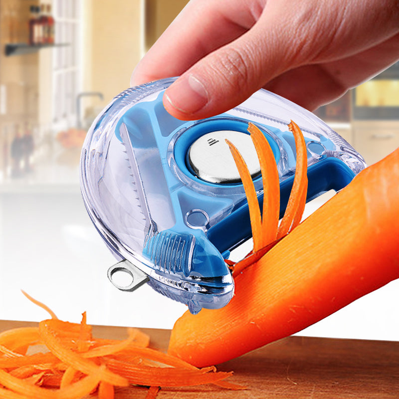 3 In 1 Rotary Vegetable Peeler