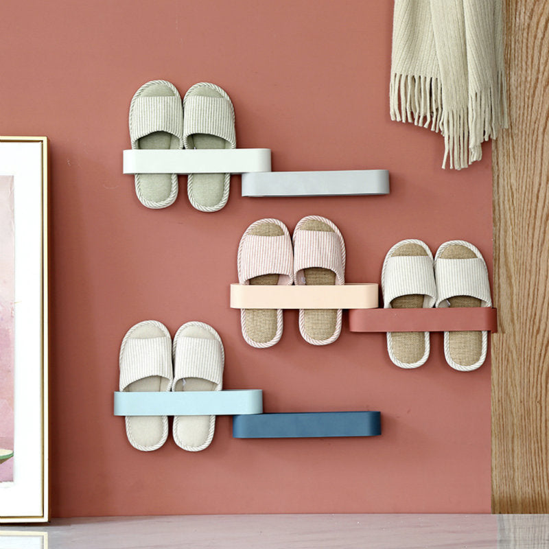 Rotation Wall Mount Shoes Rack