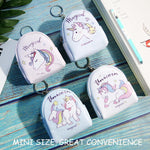 Mini Cartoon Unicorn Coin Purse