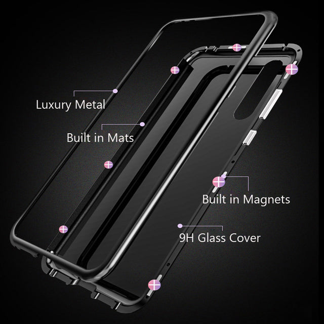 Magnetic Adsorption Phone Case For Huawei Mate10/Mate10 Pro/P20/P20 Pro