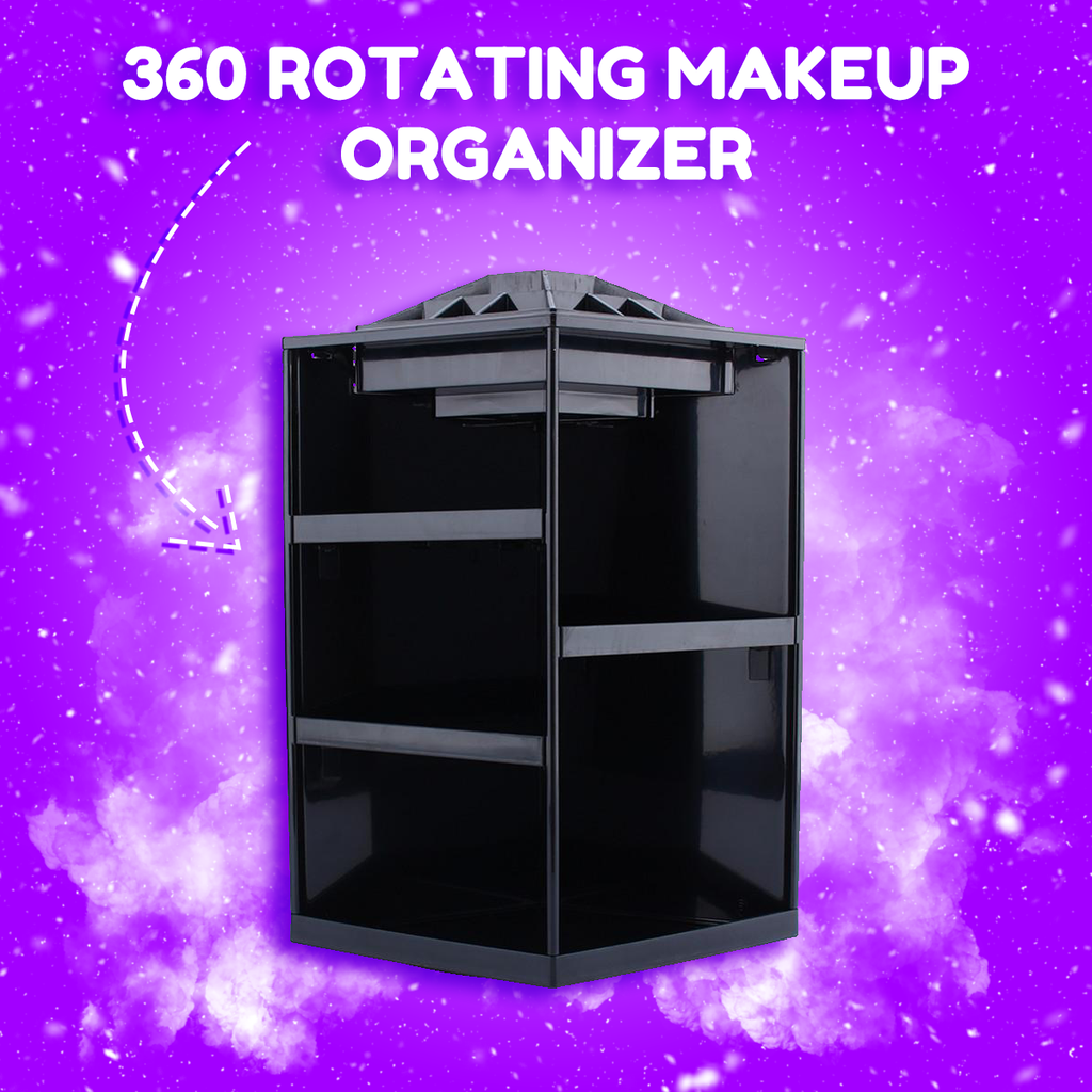 360 Rotating Makeup Organizer - That Good Deal