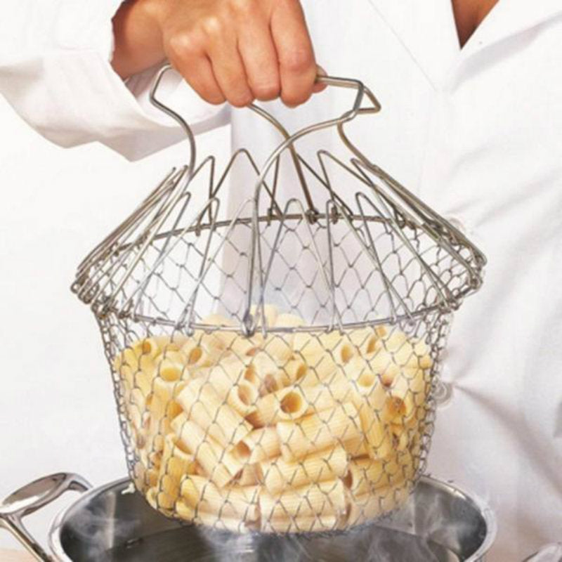Multifunction Foldable Chef Basket