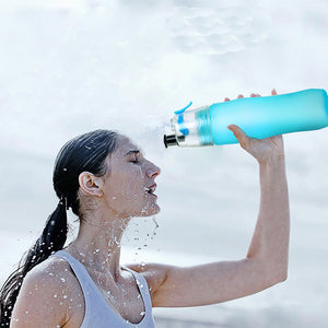 Cooling Mist Spray Water Bottle