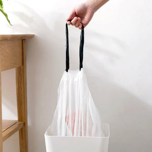 Kitchen Drawstring Trash Bags(100 pieces)