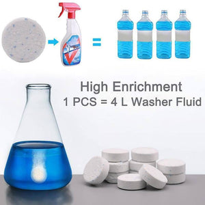 Multifunctional Effervescent Spray Cleaner Set (10 Pcs With A Spray Bottle)