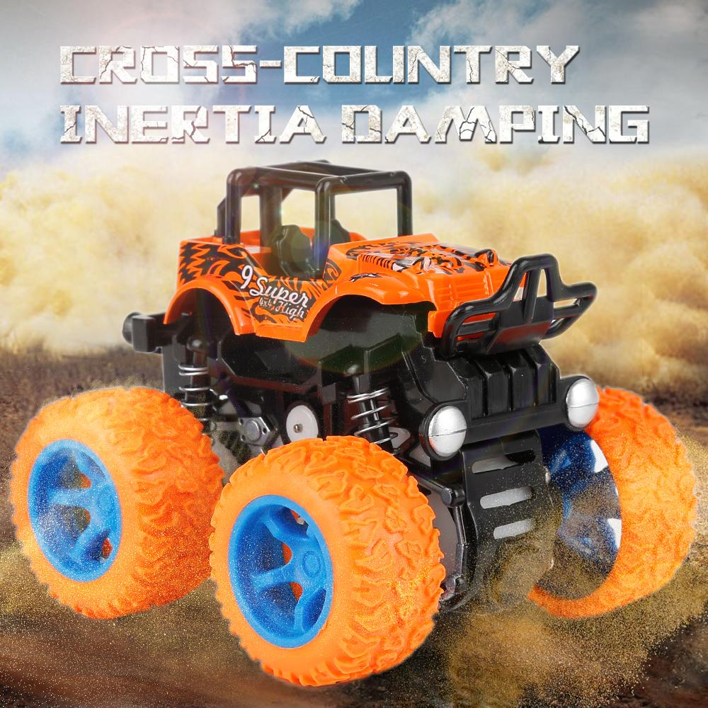 4WD Inertia Rotatable Car Toy
